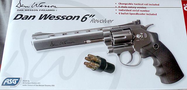 revolver dan wesson 6