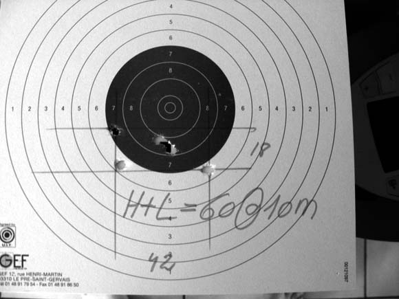 Apprendre a régler une hausse Ruger6mm4